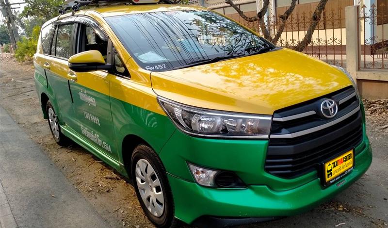 รถ Taxi ขนาดใหญ่